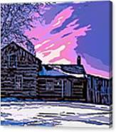 A Winter Dream 2 Canvas Print