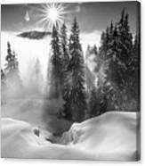 A Winter Tale ! Canvas Print