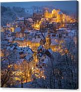 A Winter Tale Canvas Print