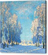 A Winter's Day Canvas Print