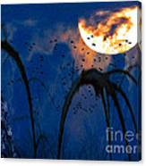 A Winter's Moon 3 Canvas Print