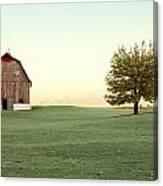 A Wisconsin Postcard Canvas Print