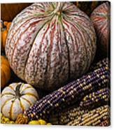 A Wonderful Autumn Harvest Canvas Print