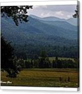 A Young Family Visits The  Great  Smoky Mountains Canvas Print