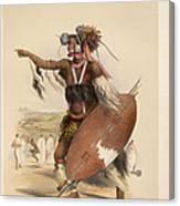 A Zulu Canvas Print