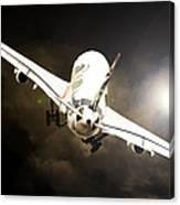A340 Takeoff Canvas Print