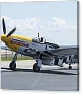 A7k Taxiing Canvas Print