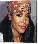 Aaliyah Canvas Print