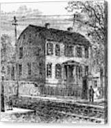 Aaron Burr Birthplace Canvas Print