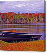 Abandon Boat Ajsp Canvas Print