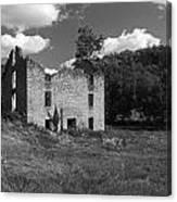 Abandon Stone House 3  Canvas Print