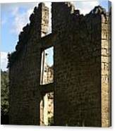 Abandon Stone House 5 Canvas Print