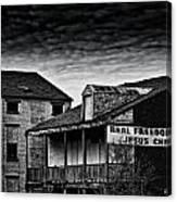 Abandone Buildings 1 Canvas Print
