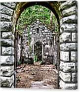 Abandoned Bath House  Ver 2 Canvas Print
