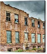 Abandoned Brick Building Canvas Print