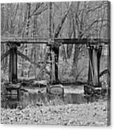 Abandoned Bridge Canvas Print