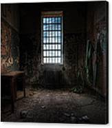 Abandoned Building - Old Room - Room With A Desk Canvas Print