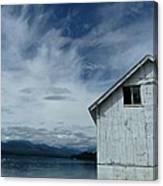 Abandoned By The Water Canvas Print