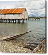 Abandoned Cannery Canvas Print