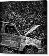 Abandoned Car Road To Hana Maui Canvas Print