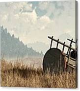 Abandoned Cart Canvas Print