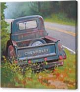 Abandoned Chevy Canvas Print