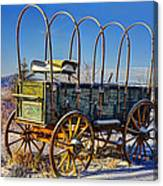 Abandoned Covered Wagon Canvas Print
