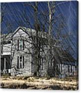 Abandoned Except For Ghosts Canvas Print