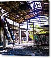 Abandoned Factory Canvas Print