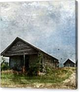 Abandoned Farm Home - Kansas Canvas Print