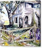 Abandoned Farm  Nossentin Canvas Print