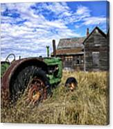 Abandoned Farm Saskatchewan Canada Canvas Print