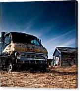 Abandoned Ford Van Canvas Print