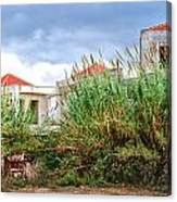 Abandoned Holiday Resort Canvas Print