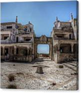 Abandoned Holidays Canvas Print