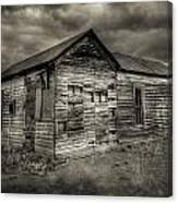 Abandoned Home Canvas Print