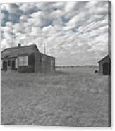 Abandoned Homestead Series Selective Color Canvas Print
