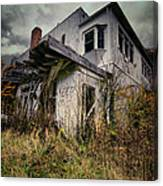 Abandoned Hotel Hdr Canvas Print