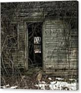 Abandoned House - Enter House On The Hill Canvas Print