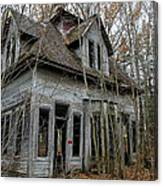 Abandoned House In New Hampshire Canvas Print
