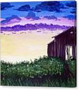 Abandoned In The Evening Canvas Print