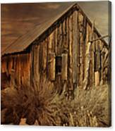 Abandoned In The West Canvas Print