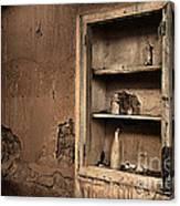Abandoned Kitchen Cabinet B Canvas Print