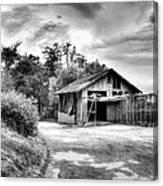 Abandoned La Zoo Dr's  Barn House Canvas Print