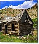 Abandoned Log Cabin Canvas Print