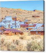 Abandoned Mining Buildings Canvas Print