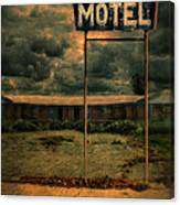 Abandoned Motel Canvas Print