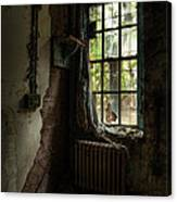 Abandoned - Old Room - Draped Canvas Print