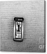 Abandoned Payphone. Nyc. Canvas Print