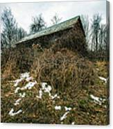 Abandoned Places - Old House - House On The Hill Canvas Print